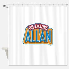 The Amazing Allan Shower Curtain