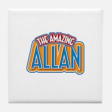 The Amazing Allan Tile Coaster
