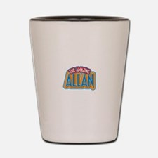 The Amazing Allan Shot Glass