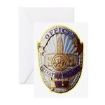 Private Security Officer Greeting Cards (Pk of 10)