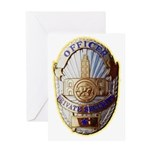 Private Security Officer Greeting Card