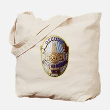 Private Security Officer Tote Bag