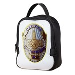 Private Security Officer Neoprene Lunch Bag