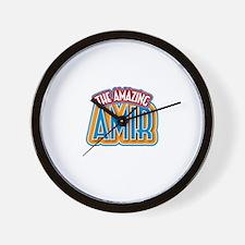 The Amazing Amir Wall Clock