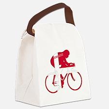 Danish Cycling Canvas Lunch Bag