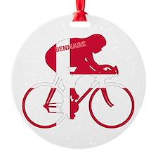 Danish Cycling Ornament