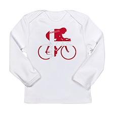Danish Cycling Long Sleeve Infant T-Shirt