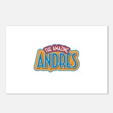 The Amazing Andres Postcards (Package of 8)