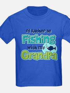 Rather Be Fishing Grandpa T