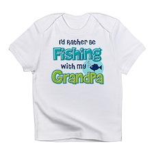Rather Be Fishing Grandpa Infant T-Shirt