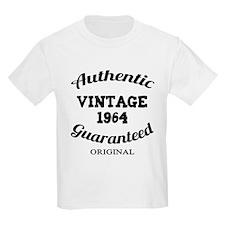 Authentic Vintage Birthday 1964 T-Shirt