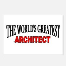 """""""The World's Greatest Architect"""" Postcards (Packag"""