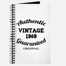 Authentic Vintage Birthday 1969 Journal