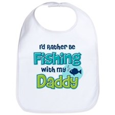 Rather Be Fishing Dad Bib