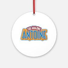 The Amazing Antoine Ornament (Round)
