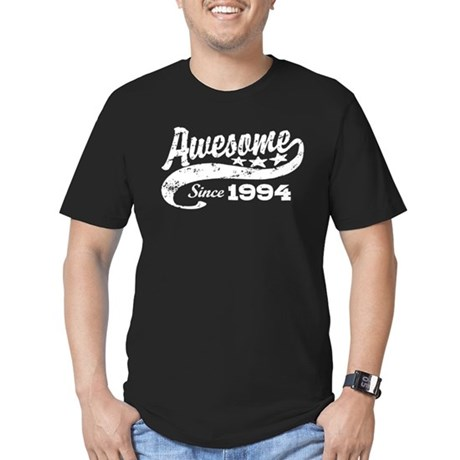 Awesome Since 1994 Men's Fitted T-Shirt (dark)