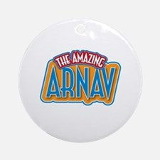 The Amazing Arnav Ornament (Round)