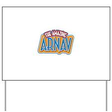 The Amazing Arnav Yard Sign