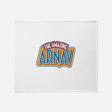 The Amazing Arnav Throw Blanket