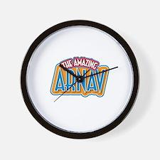The Amazing Arnav Wall Clock