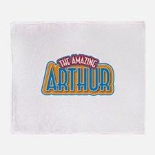 The Amazing Arthur Throw Blanket