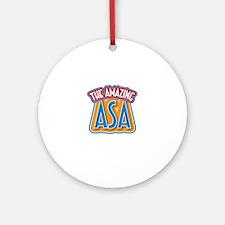 The Amazing Asa Ornament (Round)