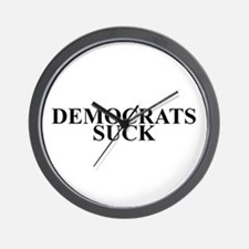 Democrats Suck Wall Clock