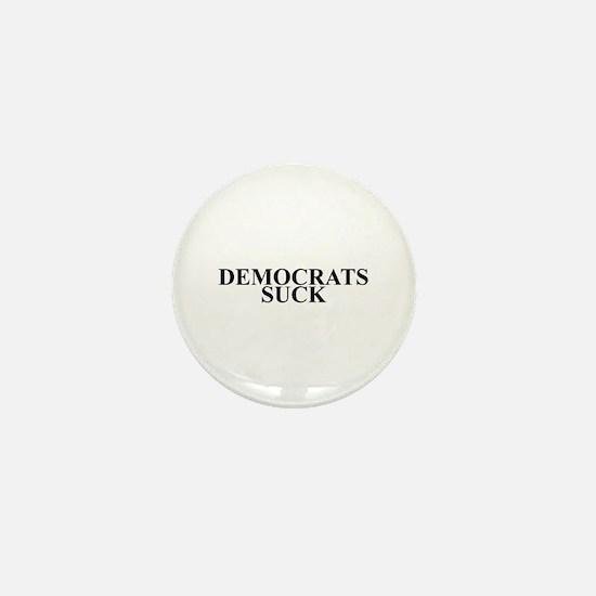 Democrats Suck Mini Button