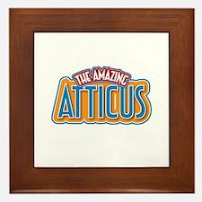The Amazing Atticus Framed Tile