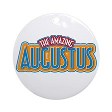 The Amazing Augustus Ornament (Round)