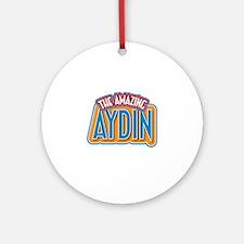 The Amazing Aydin Ornament (Round)
