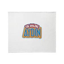 The Amazing Aydin Throw Blanket