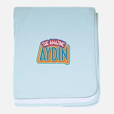 The Amazing Aydin baby blanket