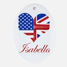 Isabella Oval Ornament