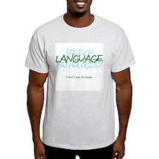 speech LANGUAGE pathologis T-Shirt