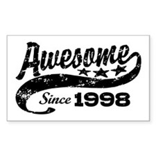 Awesome Since 1998 Decal
