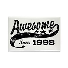 Awesome Since 1998 Rectangle Magnet