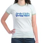 Swim life in bold letters T-Shirt