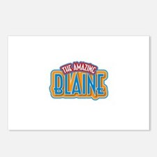 The Amazing Blaine Postcards (Package of 8)