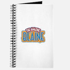 The Amazing Blaine Journal