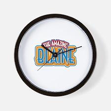 The Amazing Blaine Wall Clock