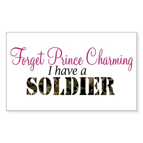Forget Prince Charming.. I ha Sticker (Rectangular