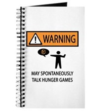 Warning Talk Hunger Games Journal