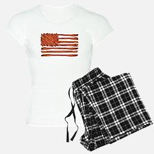 United States of Bacon Flag Pajamas