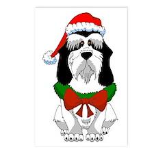 PBGV Christmas Postcards (Package of 8)