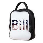 Bill Stars and Stripes Neoprene Lunch Bag