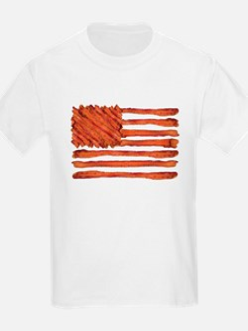 United States of Bacon Flag T-Shirt