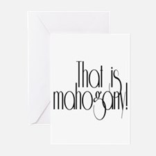 That is Mahogany Effie Hunger Games Greeting Cards