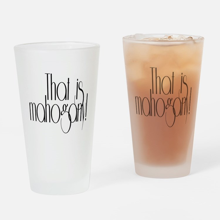 That is Mahogany Effie Hunger Games Drinking Glass