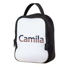 Camila Stars and Stripes Neoprene Lunch Bag
